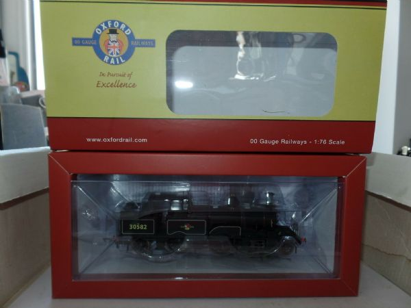 Oxford Rail OR76AR004 AR004 Adams Radial Locomotive 30582 British Railways Late
